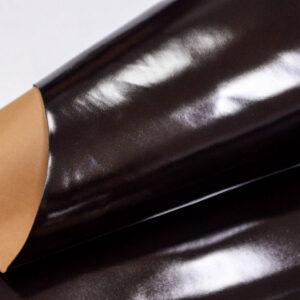 Кожа теленка, матовый лак, темно-коричневая, 68 дм2, Russo di Casandrino S.p.A.-109990