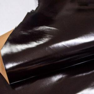 Кожа теленка, матовый лак, темно-коричневая, 76 дм2, Russo di Casandrino S.p.A.-109991