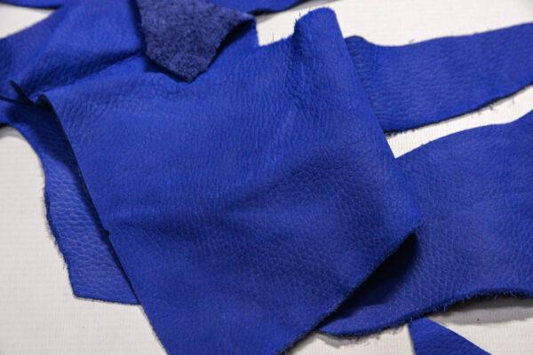 Нубук КРС, синий, 18 дм2.-1-479