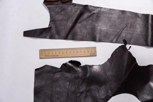 Кожа КРС, темно-коричневая, 13 дм2.-1-496
