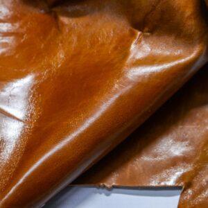 Кожа КРС с эффектом пул ап (Pull Up), коричневая, 11 дм2.-1-497