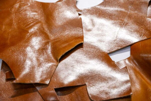 Кожа КРС с эффектом пул ап (Pull Up), коричневая, 16 дм2.-1-501