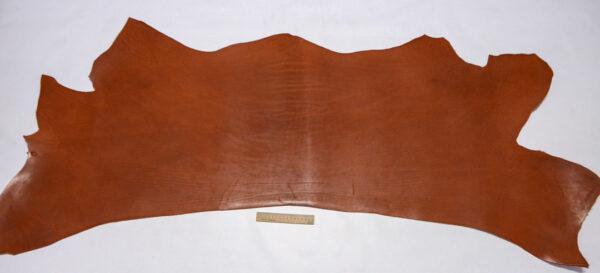 Кожа КРС(вороток), краст, рыжая, 94 дм2.-1-506