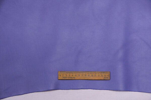 Кожа КРС, васильковая, 140 дм2.-110012