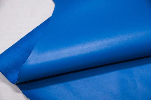 Кожа КРС, небесно-голубая, 76 дм2, Rinaldi Conceria S.R.L.-110024