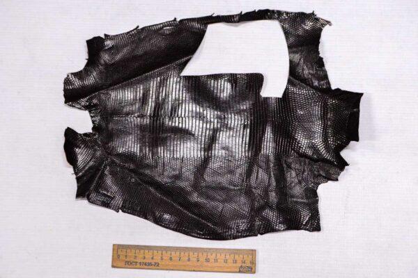Кожа игуаны, коричневая, 30х19 см.- ign-006