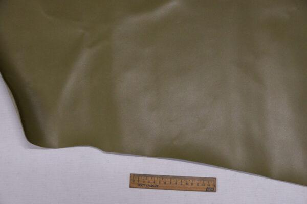 Кожа КРС сафьяно (Saffiano), фисташковая, 90 дм2.-110041