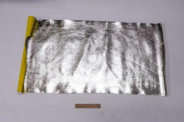 Кожа КРС, серебряная, 52 дм2.-110083