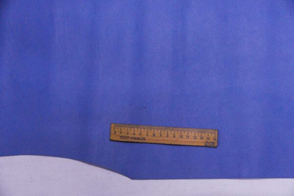 Кожа КРС, сафьяно (Saffiano), васильковая, 177 дм2, Pomari - Rino Mastrotto Group S.p.А.-110092