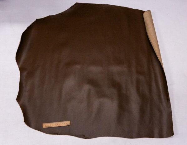 Кожа КРС, коричнево-оливковая, 88 дм2.-110094