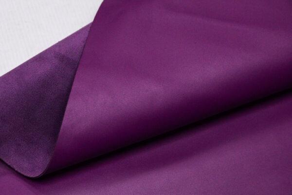 Кожа КРС, светло-фиолетовая, 96 дм2.-110111