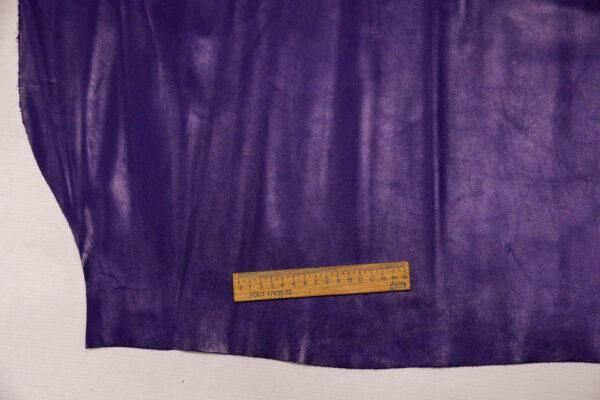 Кожа КРС, фиолетово-синяя, 119 дм2.-110120