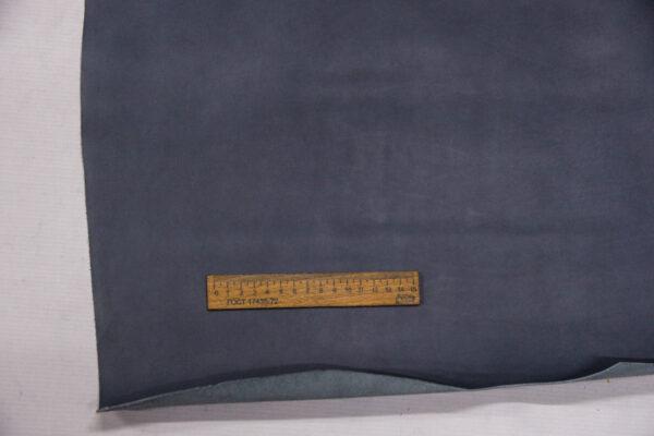 Кожа КРС, серо-голубая, 81 дм2.-110125