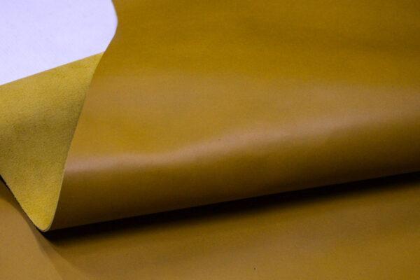 Кожа КРС, горчичная, 248 дм2.-110126