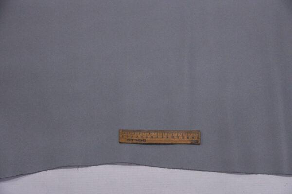 Кожа КРС, сафьяно (Saffiano), серая, 144 дм2.-110137