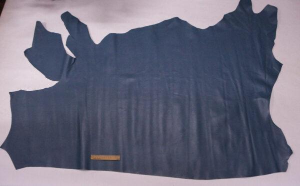 Кожа КРС, сафьяно (Saffiano), бледно-синяя, 156 дм2.-110139