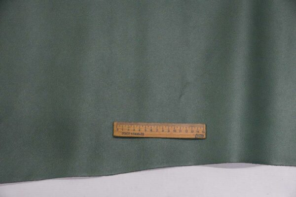 Кожа КРС, сафьяно (Saffiano), болотная, 162 дм2.-110141