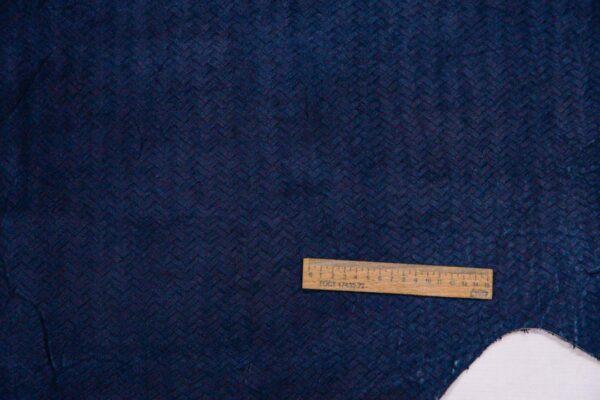 Спил КРС с тиснением, темно-синий, 15,5 фут2 (144 дм2).-110146