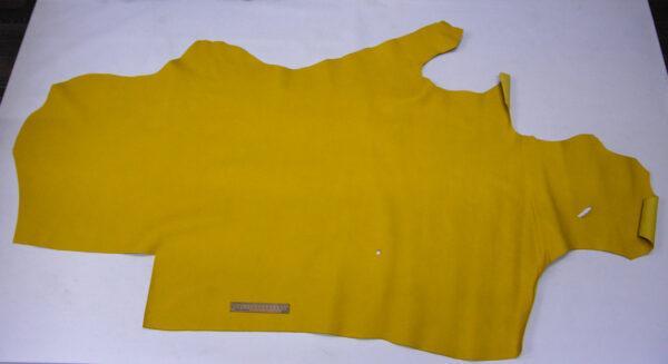 Кожа КРС сафьяно (Saffiano), желтая, 147 дм2.-110167