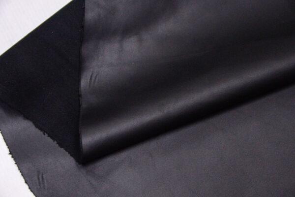 Кожа одежная КРС, черная матовая, 122 дм2.-110180