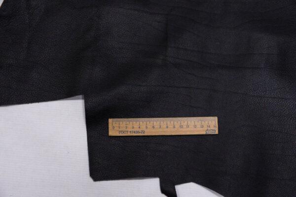 Кожа КРС, черная, 103 дм2.-110181