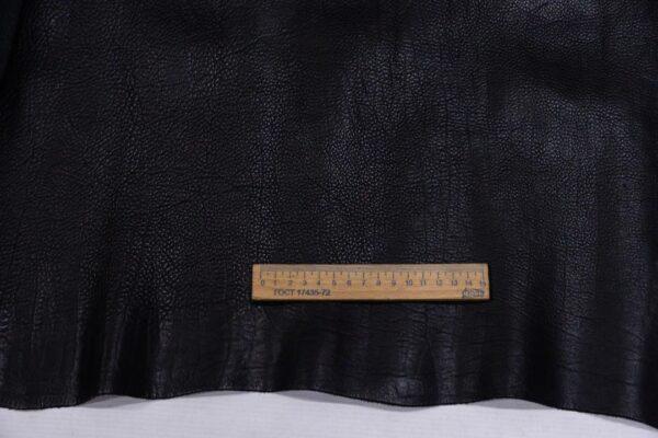 Кожа КРС, черная, 137 дм2.-110184