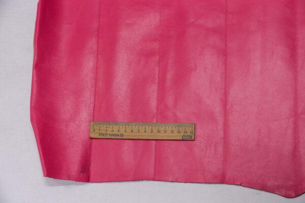 Кожа КРС, розовая фуксия, 80 дм2.-110198