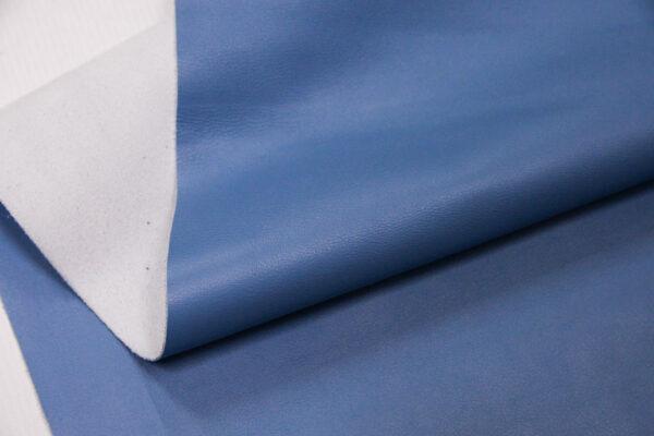 Кожа КРС, голубая, 160 дм2.-110203