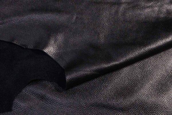 Кожа КРС, флотар, черный, 225 дм2.-D1-407