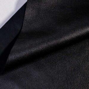 Кожа КРС, флотар, черный, 201 дм2.-D1-409