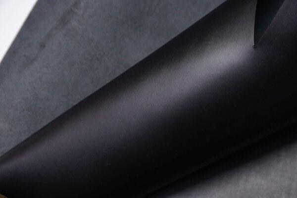 Кожа КРС ременная, черная, 239 дм2.-D1-445