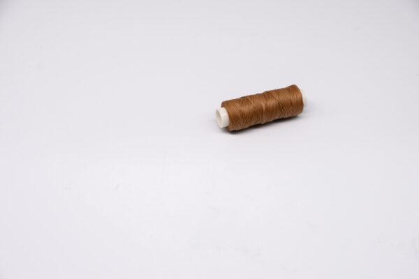 """Нить """"GALACES"""" вощеная плоская. Светло-коричневая-s018"""