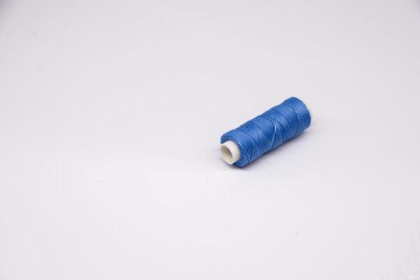 """Нить """"GALACES"""" вощеная круглая 0,45 мм. Голубая-s036"""