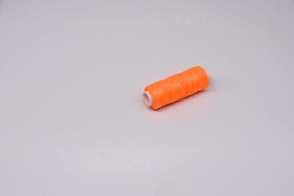 """Нить """"GALACES"""" вощеная плоская. Ярко-оранжевая-s042"""