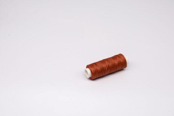 """Нить """"GALACES"""" вощеная круглая 0,45 мм. Темно-красная-s044"""