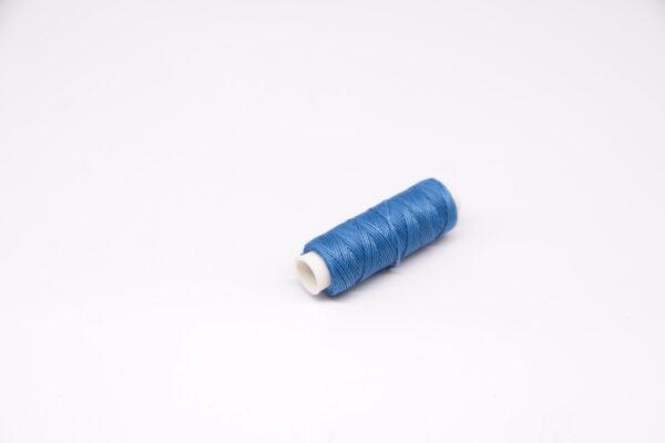 """Нить """"GALACES"""" вощеная круглая 0,55 мм. Светло-синяя-s067"""