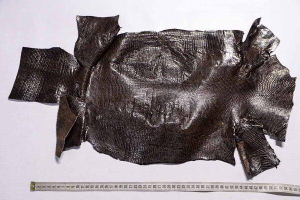Кожа игуаны, темно-коричневая, 61х30 см.- ign-037