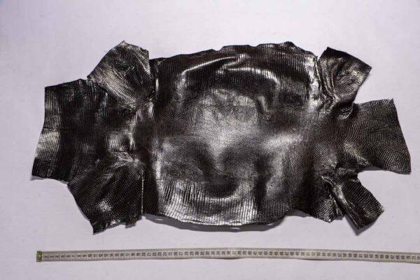 Кожа игуаны, темно-коричневая, 71х37 см.- ign-038