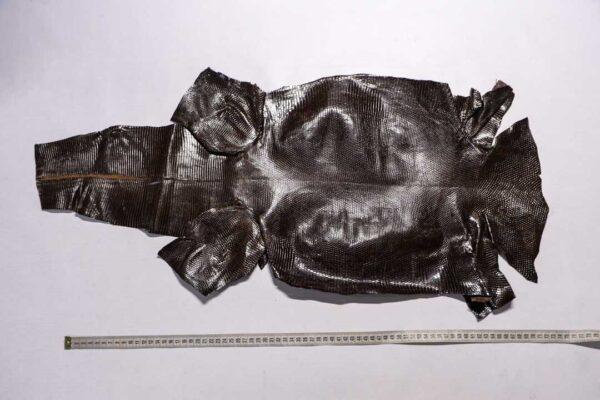 Кожа игуаны, темно-коричневая, 80х36 см.- ign-040