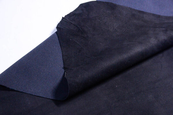 Стрейч велюр МРС, черный, 41 дм2.-110216