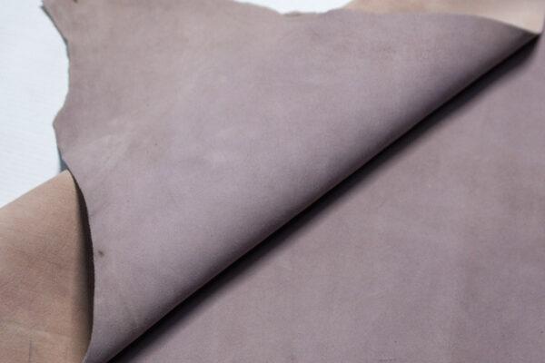 Велюр МРС (коза), серо-сиреневый, 34 дм2.-110227