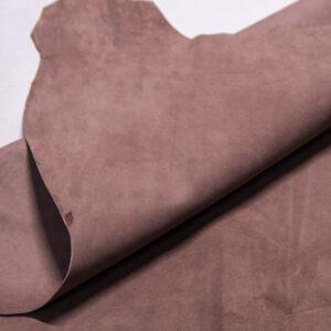 Велюр МРС (коза), грязно-розовый, 36 дм2.-110236