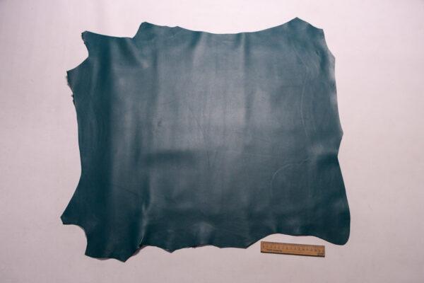 Кожа МРС, темно-бирюзовая, 44 дм2, Russo di Casandrino S.p.A.-110263