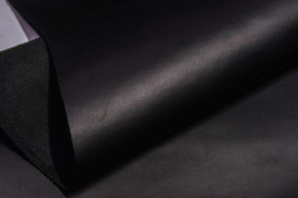 Кожа КРС крейзи хорс (Crazy Horse), черная, 89 дм2.-D1-455