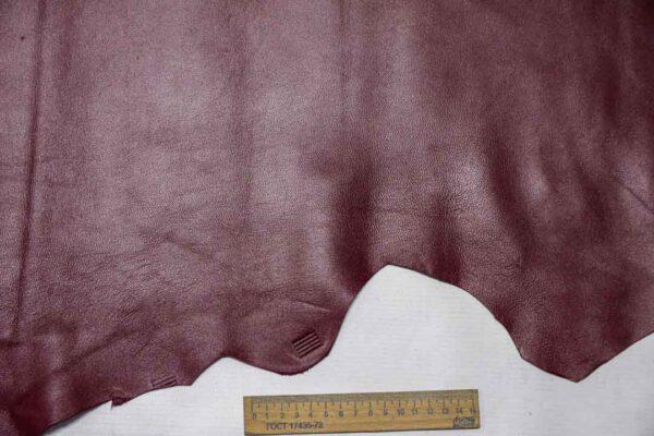 Кожа МРС, марсала, 75 дм2.-110300