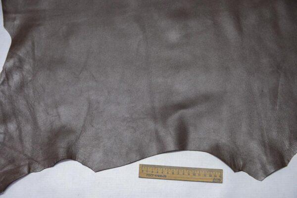 Кожа МРС, темный хаки, 56 дм2, Deviconcia.-110312