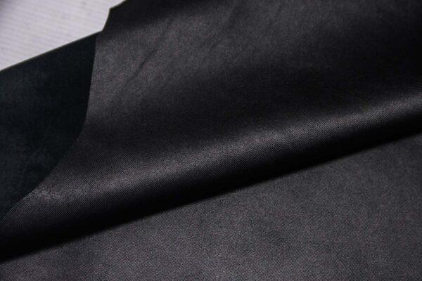 Кожа МРС с тиснением, черная, 41 дм2.-110332