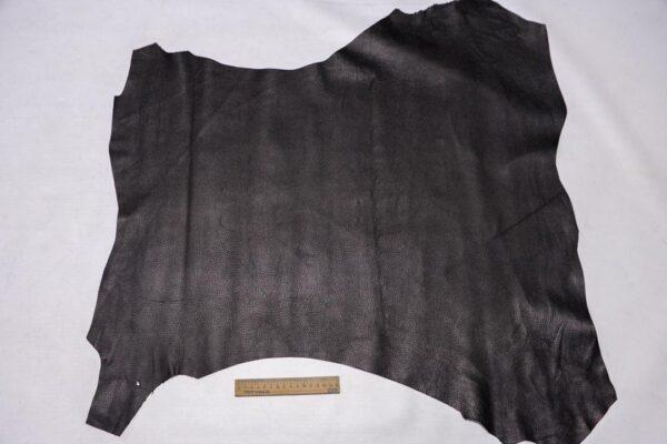 Кожа МРС с тиснением, черная, 50 дм2.-110336