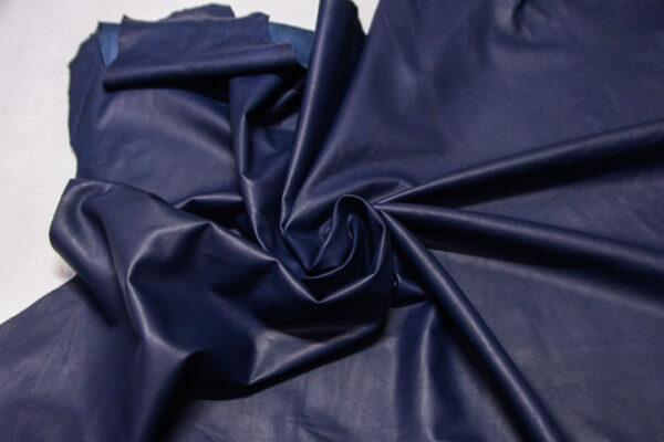 Кожа МРС, синяя, 76 дм2.-110346