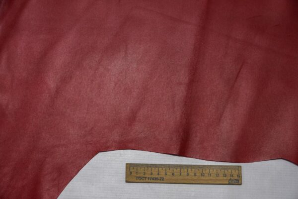 Кожа МРС, темно-красная, 36 дм2.-110352